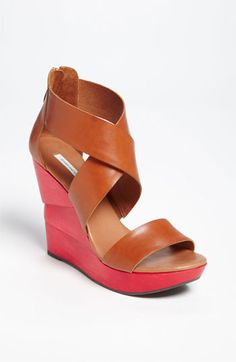 Diane von Furstenberg Opal Wedge Sandal | Nordstrom