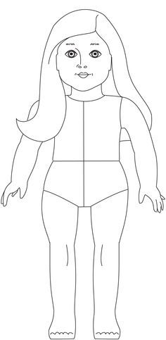 American Girl Doll Julie coloring page from American Girl category