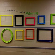 Perfect for displaying pupil's work on dull corridor walls... What are your top tips for displaying a pupil's work? Elementary Computer Lab, Computer Teacher, Computer Class, Computer Hub, Computer Lessons, Computer Science, Elementary Schools, Teaching Computers, School Computers