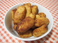 ¡Aquí y Ahora!: Croquetas de pollo asado