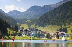 Hotel Sportwelt - Magic Mountains-Pauschale Austria, Mountains, Places, Summer, Painting, Bucket, Magic, Recovery, Vacation