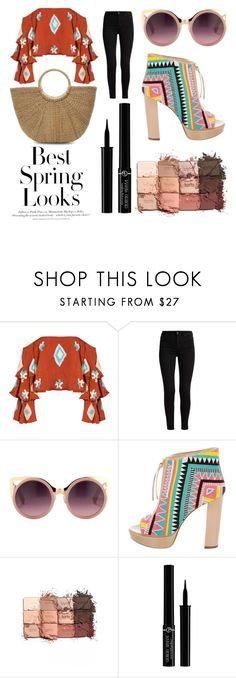 """Sans titre #113"" by jaimewareham ❤ liked on Polyvore featuring Mochi, Erdem, Jerome C. Rousseau, tarte, Giorgio Armani and H&M"
