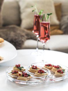 Champagner mit Granatapfel I Nummer Fünfzehn