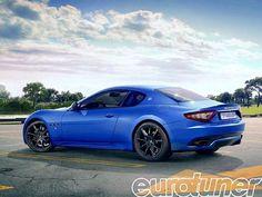 Gosto de  selecionar aqui fotos de carros  modificados, raros e especiais,  mas hoje vai  uma foto de um carro  original, mas em um excelente click, gostei da cor, um Maserati Gran Turismo Sport 2013.