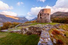 Castell Dolbadarn, Llanberis, Snowdonia, Wales