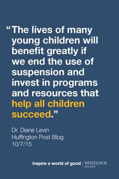 Preschool Suspensions: Young Children Who Are Being Left Behind