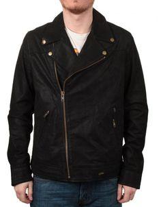 OBEY CLOTHING HOLIDAY BASTARDS JACKET - BLACK - £ 199.95