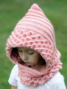 Crocodile Stitch Hood - Kids