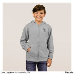 Cute Dog Face Boy's Zip Hoody Available on many products! Hit the 'available on' tab near the product description to see them all! Thanks for looking!  @zazzle #art #cute #cartoon #funny #dog #cute #pet #friend #family #drawing #digital #black #sweet #nice #friend #women #men #kids #clothes #fashion #style #apparel #tee #tshirt #hoody #sweatshirt #shop #gift #idea #shopping #buy #sale #puppy