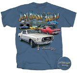 Ford Mustang T-shirt Just Horsin Around Car Tee-medium - http://shopattonys.com/ford-mustang-t-shirt-just-horsin-around-car-tee-medium/