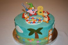 Kirby Cake (Part 2)