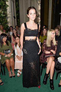 Emma Watson - Front Row at Valentino