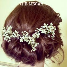 Loose and soft with pretty flowers.  The Megan..  www.the-aisle.co.uk