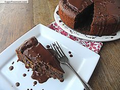 Clean Eating Chocolate Chip Cookie Dough Chocolate Cake
