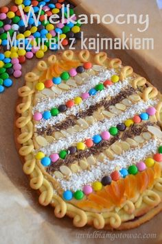 Polish Recipes, Polish Food, Easter Dishes, Easter Recipes, Baked Goods, Recipies, Food And Drink, Birthday Cake, Cooking Recipes