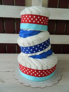 Dr Seuss Diaper Cake Tutorial ~ easy to customize for any theme