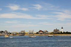 Cape Cod is always beautiful but especially during these colder months. Just like this view of the homes along the harbor.