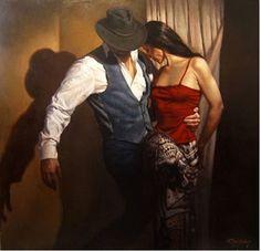 Застывшее танго художника Хэмиша Блекли (Hamish Blakely)