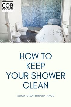 One of the best ways to keep your shower clean is to change out your shower liner. With normal shower liners they are too long and may build up mold and mildew in your bathtub. We have a short cut shower liner that is perfect to help keep your shower clea Zone Cleaning, Speed Cleaning, Cleaning Routines, Dream Bathrooms, Amazing Bathrooms, Clean Bedroom, Bathroom Cleaning Hacks, Shower Liner, Home Management