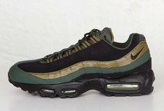 "Nike Air Max 95 Essential ""Militia Green"" - EU Kicks: Sneaker Magazine"