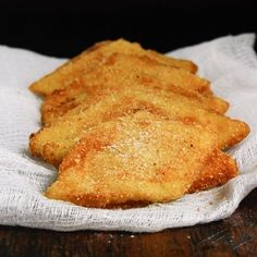 Traditional Venice street food, Fried Cream. Luscious creamy centre with a crispy coating served warm. Impossible to eat just one!