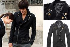 KOREAN JACKET DOUBLE ZIPPER