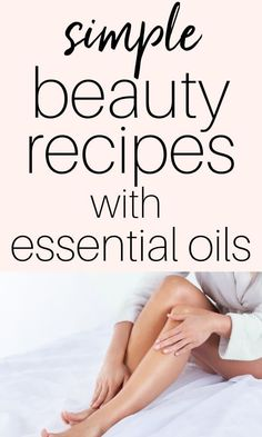 Easy Homemade Beauty Products with Essential Oils Five simple DIY beauty products made with just a few ingredients and essential oils. These recipes are perfect for the essential oil and DIY beginner! Essential Oils For Migraines, Essential Oils For Skin, Cool Diy, Essential Oil Beginner, Natural Beauty Recipes, Skin Care Remedies, Acne Remedies, Homemade Beauty Products, Diy Skin Care