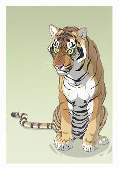 Grump by HannasArtStudio - Animals - Katzen Big Cats Art, Furry Art, Cat Art, Tiger Drawing, Tiger Art, Animal Sketches, Animal Drawings, Anime Animals, Warrior Cats