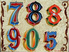 numeros fileteados - Buscar con Google
