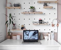 WEBSTA @ kmartgrapevine - #pegboard and #workspace styling by the lovely @ughtaya. Thanks for the tag sweet! #Kmart #kmartaus #kmartstyling #desksituation #pegboard