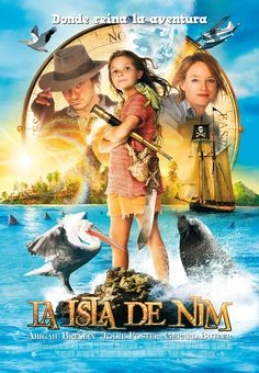 La isla de Nim, película para chivos, 18-02-2017