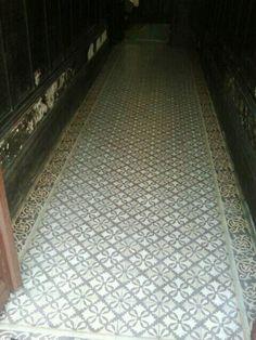 Mooie vloer.. gespot in Porto!