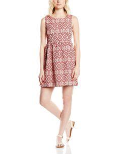 Vestido hipster mujer sin mangas ideal para esta primavera - verano, original en color rojo.