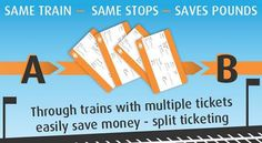 Use split ticketing facility to book ticket from Birmingham to Leeds and save massive amount of £20.20 at Raileasy.