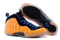 "88de20e6102 Nike Air Foamposite One ""New York Knicks"" Orange Black Blue Online ZH5iC"