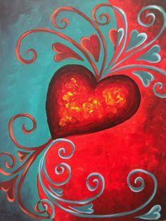 158 Best Acrylic Ideas Valentine S Theme Images On Pinterest