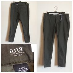 New...a.n.a A New Approach jeggings. New...Ana jeggings.  Petite size 31/12 petite A New Approach Jeans