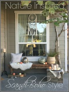 Hello everyone, let me share my Fall Front Porch with you. This year I was going for the Scandi-Boho look which I am madly in-love with!  The only new things I…