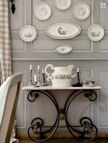 Eye For Design: Decorating With French Pastry/Butcher Tables