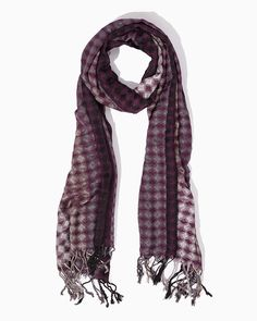 Teryn Diamond Weave Scarf | UPC: 410007082952