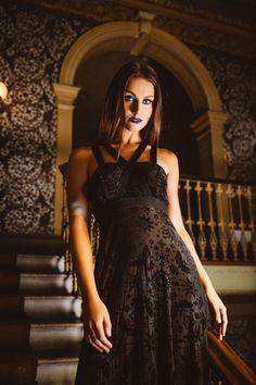 86cc4766446 Burned Velvet Spell Harness Maxi Dress – PRESALE ( 150AUD) by BlackMilk  Clothing Skirt