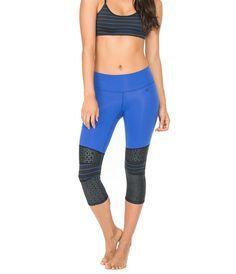 Leggings For Spring | Pattern Player: Body Language Sportswear Cruz Capri