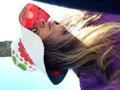 Sun hats from quiosque de trapos