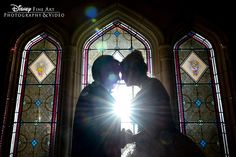 Magical wedding moment in Disney's Magic Kingdom
