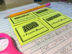 How do you help students remember how to do all four operations with scientific notation? Why, with this handy foldable graphic organizer, of course! Check out the whole unit for my class' interactive notebooks in this post! Algebra Interactive Notebooks, Math Notebooks, Student Teaching, Teaching Tools, Scientific Notation, Fifth Grade Math, I Can Statements, Guided Practice, Learning Objectives