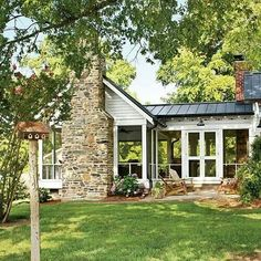 screened houses with fireplace | ... love a huge screened in porch. The best part of this is the fireplace