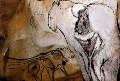 """The Sorcerer"" ~ 35,000 year old painting discovered in Chauvet Cave in 1994"