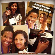 Tasting Wine With The McBride Sisters #Wine