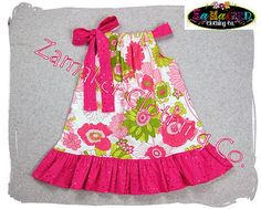 Pillowcase Dresses  Spring Is Here Floral  by ZamakerrClothingCo, $26.50