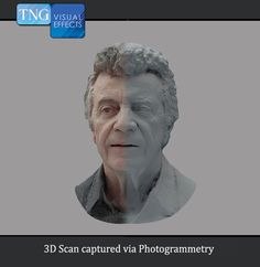 Check out our Founder, Nick Tesi, as a digital double! This #3dscan was captured using #photogrammetry. tngvisualeffects.com